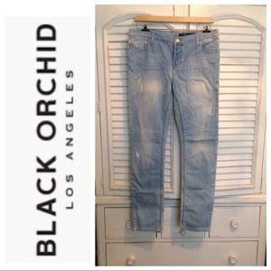 New Black Orchid Boyfriend Jeans 34